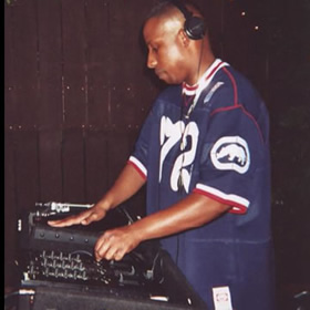 DJ 8 Ball in Long Beach, 1999